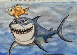 shark nature drawings pictures drawings ideas for kids easy