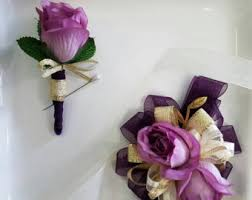 Corsages And Boutonnieres For Prom Homecoming Corsage Etsy