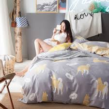 online get cheap grey cotton sheets aliexpress com alibaba group