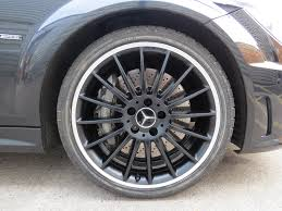 mercedes c63 amg alloy wheel refurbishment and cut
