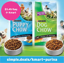 3 49 a bag of purina dog or puppy chow 16 20 lbs kmart simple
