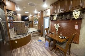 5th wheel with living room in front front living room fifth wheel toy hauler design idea and