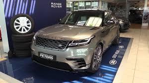range rover velar 2018 new in depth review interior exterior 2017