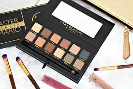 anastasia beverly hills master by mario palette review u0026 swatches