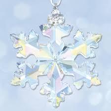 2016 swarovski 25th anniversary crystal ornament sterling