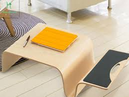 the japanese wood bending wood small desk large sized apartment