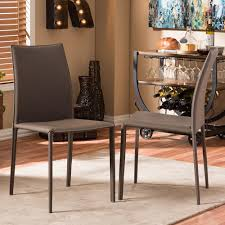 Cushioned Dining Chairs Monarch Specialties Light Taupe Dining Chair Set Of 2 I 1666tp