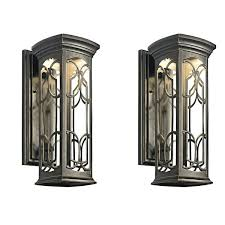 wall mounted lantern lights wall mounted lanterns die cast aluminium 4 side wall mounted garden