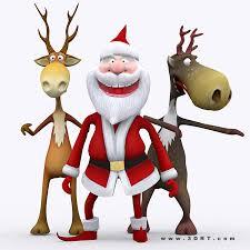 animated santa characters characters santa bundle