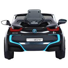 bmw black avigo bmw i8 6 volt ride on black toys