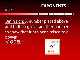 6 th grade math vocabulary word definition model emery unit ppt