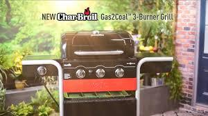backyard grill 3 burner char broil gas2coal 3 burner grill youtube