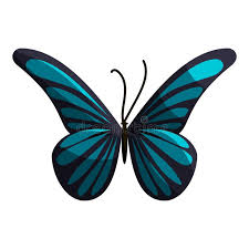 small butterfly icon style stock vector illustration of