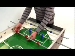 garlando g5000 foosball table garlando foosball table assembly with outgoing rods youtube