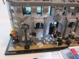 lego ideas gotham tv show police headquarters