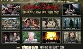 blogs the walking dead the walking dead video e cards arrive