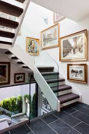 home design carpet for stairs and artwork in great contemporary