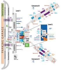 Miami International Airport Terminal Map by Airport Terminal Maps My Blog