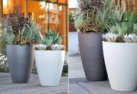 decor tall garden planters tall planters large plastic flower