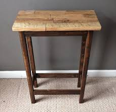 rustic wood side table salvaged pallet rustic side table pallet furniture diy rustic side