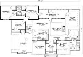 house plans with two master bedrooms ranch style house plans with two master suites newest sle