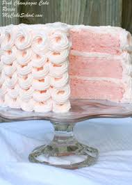 delicious pink champagne cake recipe from scratch my cake
