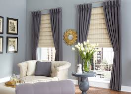 Pictures Of Window Blinds And Curtains Living Room Curtains Family Room Window Treatments Budget Blinds