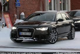 gallery audi rs6 avant caught testing in sweden quattroworld