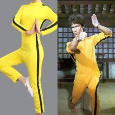 bruce yellow jumpsuit bruce of costume ebay