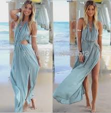 light blue halter maxi dress baby blue casual long dresses naf dresses