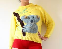 koala sweater etsy