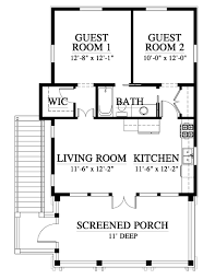 Garage Guest House Floor Plans Collins Creek Guest And Garage House Plan C0571 Design From