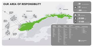 Barents Sea Map Map Of Our Area Of Responsibility Petroleum Safety Authority Norway