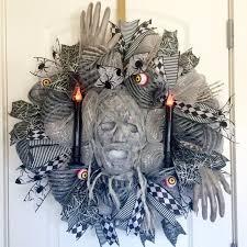 best 25 scary halloween wreath ideas on pinterest halloween