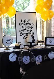 graduation party ideas kara s party ideas black white gold graduation party kara s