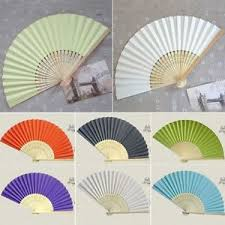 held paper fans uk 17 colors folding held bamboo paper fans pocket fan