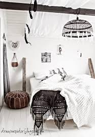 Black White Interior by B O H O Bedroom Elin Sine Draumesider Bedrooms Boho And