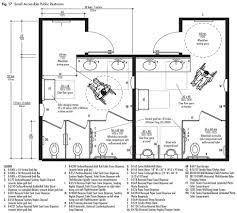 ada commercial restroom floor plan sha excelsior org