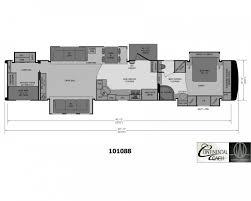 Rv 2 Bedroom Floor Plans 2 Bedroom 2 Bath 5th Wheels And Travel Trailers Rv Pinterest