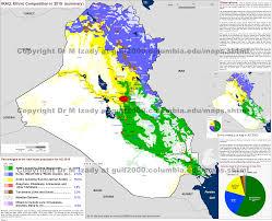 map of irak the gulf 2000 project sipa columbia