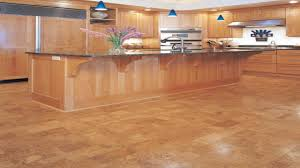 exquisite white color cork kitchen floor come with black brown