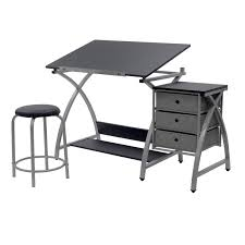 studio designs desk art drawing table drafting adjustable stool