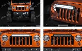 jeep wrangler front grill clearance jeep wrangler jk front bumper grille mounting brackets
