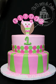 owl birthday cakes pink lime green owl birthday cake ph d serts cakes