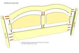 King Headboard Plans by Best King Bed Headboard Plans Home Design By John