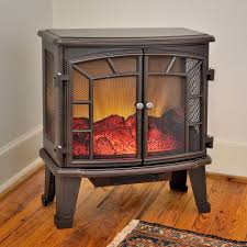 duraflame 950 bronze electric fireplace stove with remote control