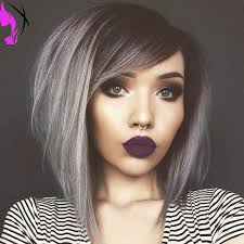 pictures of womens short dark hair with grey streaks best 25 black grey ombre ideas on pinterest black grey ombre