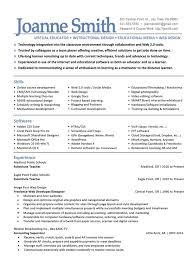 instructional designer resume the best resume