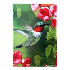 Decorative Garden Flags Meadow Creek 1 04 Ft X 1 5 Ft Peace Dove Garden Flag With Stand