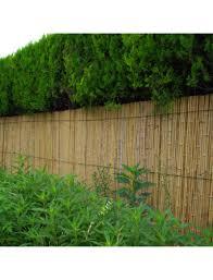 abri jardin bambou cloture jardin bambouland pare vue en bambou naturel